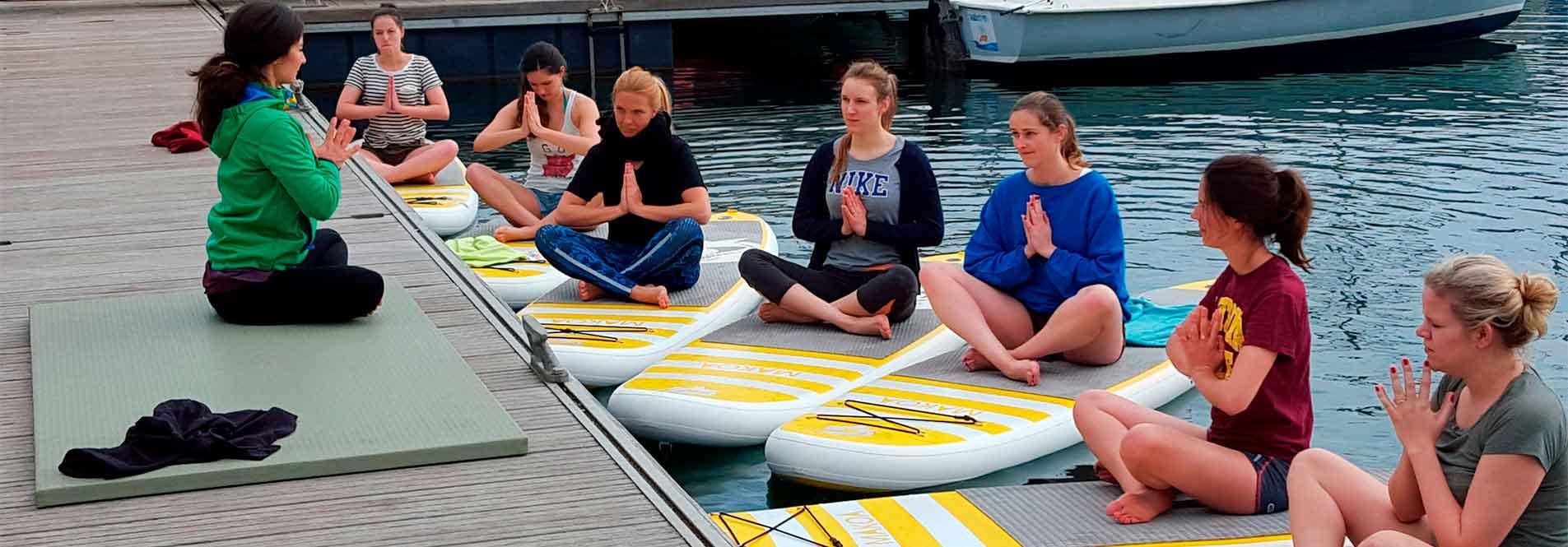 Clases de Sup Yoga en Barcelona