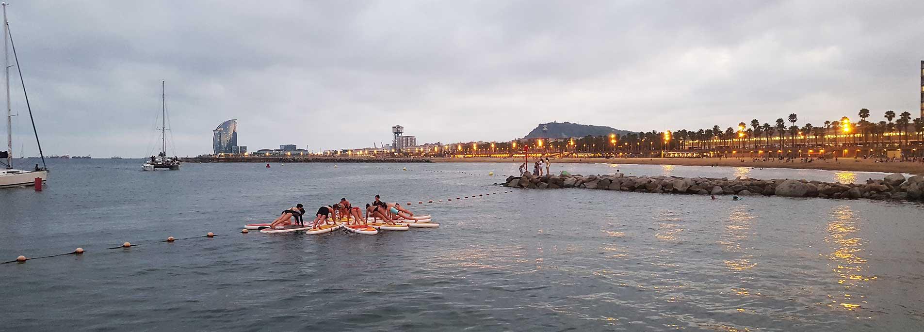 Yoga Sup en Barcelona
