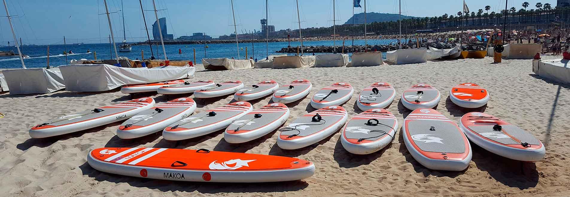 Clases de Paddle Surf Barcelona