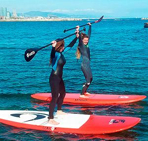 Clases de Paddle Surf en Barcelona