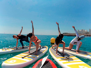 Clases de Yoga Paddle Surf